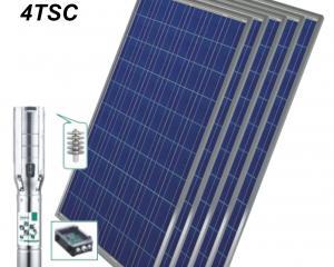 Соларна помпа за добив на вода 14 куб.м/час, 83 m, 2200 W