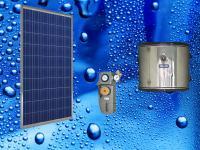 Автономна соларна система за топла вода 35 л.
