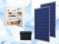 Малък хладилник захранван от фотоволтаични модули